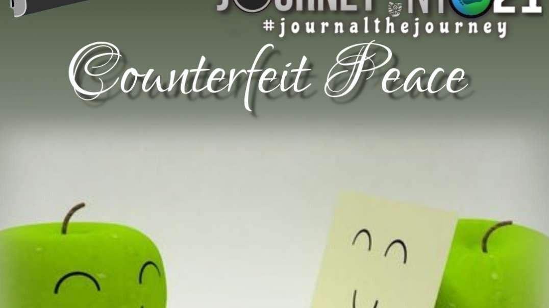 Counterfeit Peace